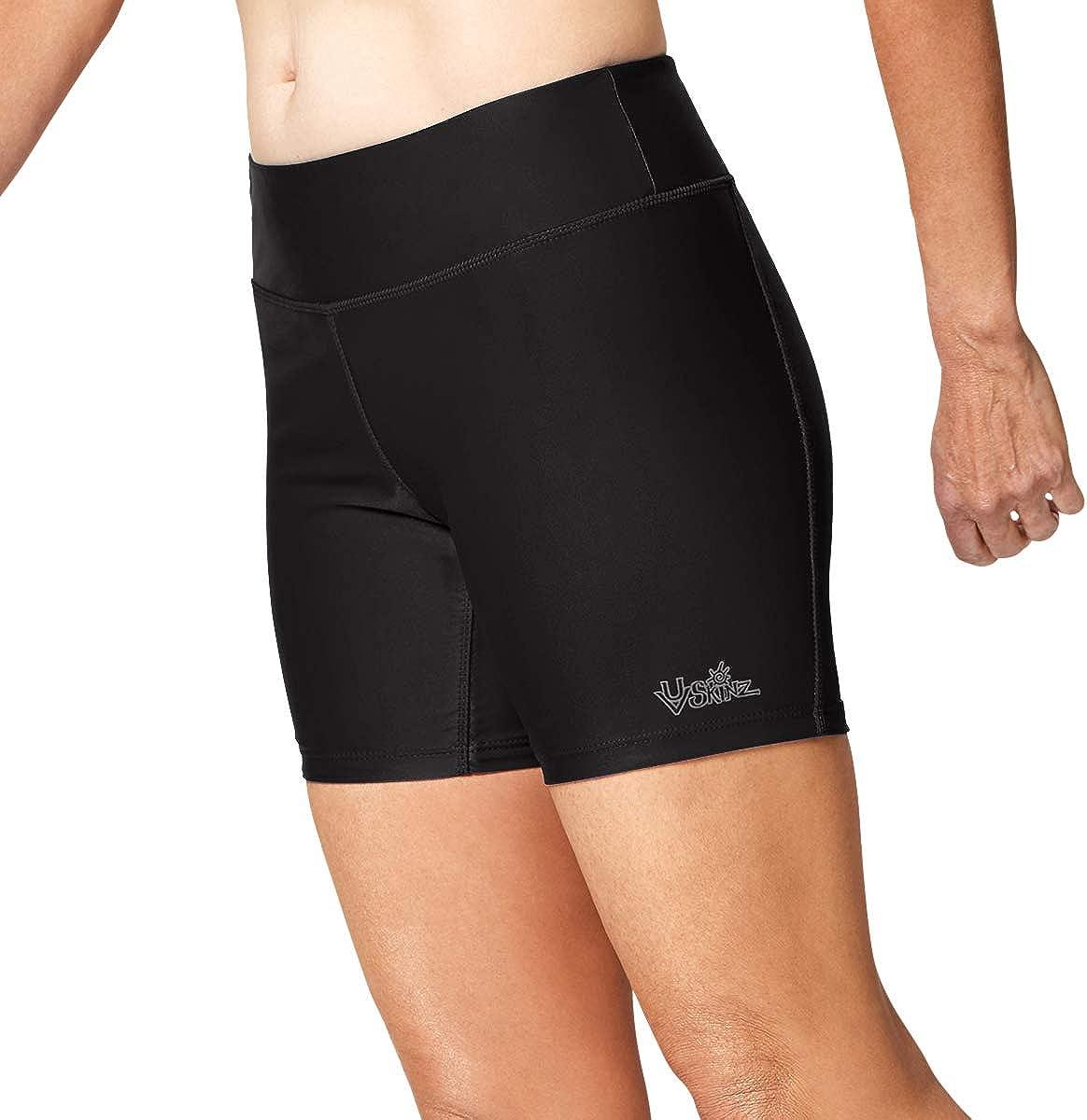 UV SKINZ UPF 50+ Women's Active Swim Shorts: Amazon.ca: Clothing &  Accessories