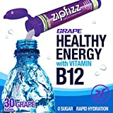 zip fiz grape - Zipfizz Grape Healthy Energy Drink Mix - Transform Your Water Into a Healthy Energy Drink - 2 Boxes, 30 Tubes Each