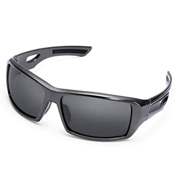 KUTOOK Polarized Sports Sunglasses for Men Women Hiking Sun Glasses