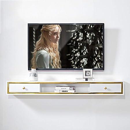 Estante Moderno Montaje en pared Soporte flotante for TV Consola for TV Estante for componentes Consola
