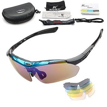 Gafas de sol polarizadas con protección frente a los rayos UV, para deportes