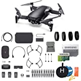 DJI Mavic Air Fly More Combo (Onyx Black) Portable Quadcopter Drone Bundle with Additional Memory Card and More