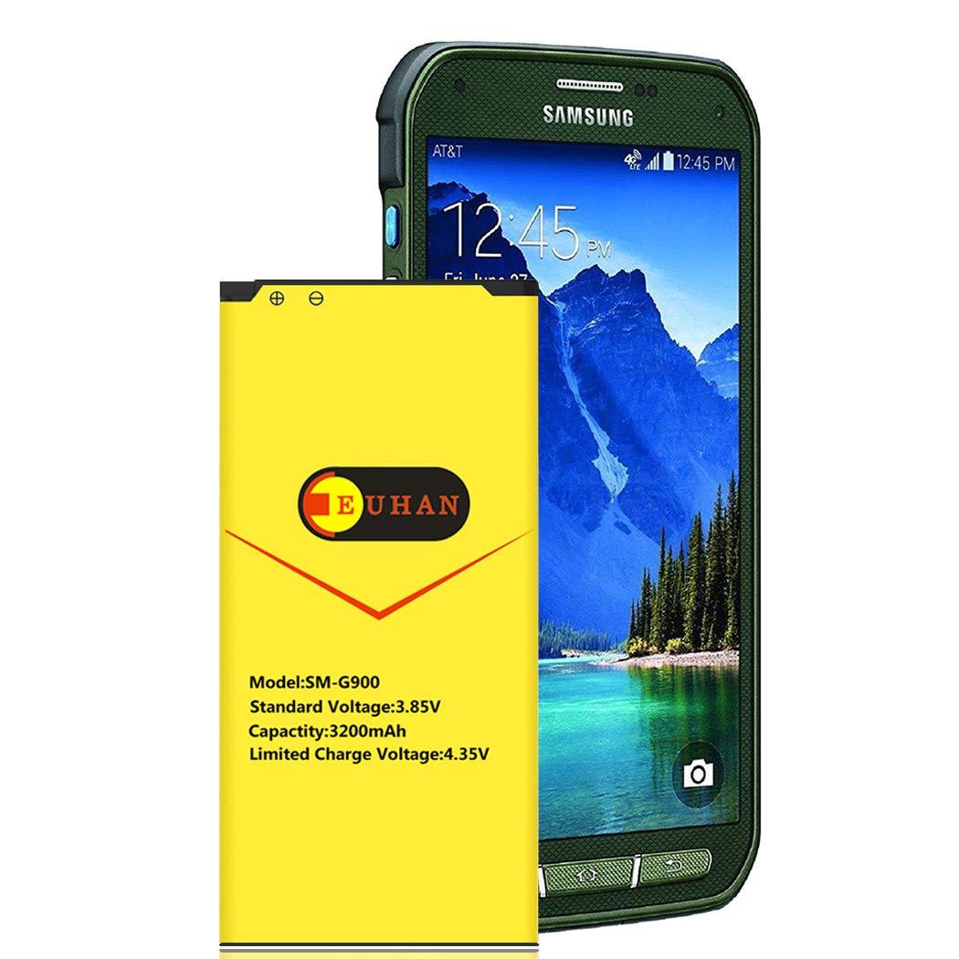 Bateria Galaxy S5 Active Euhan 3200mah Li Ion Para Samsung Galaxy S5 Active Sm G870 At&t & Galaxy S5 Sport Sm G8
