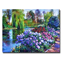 Promise Of Spring by David Lloyd Glover, 35x47-Inch Canvas Wall Art