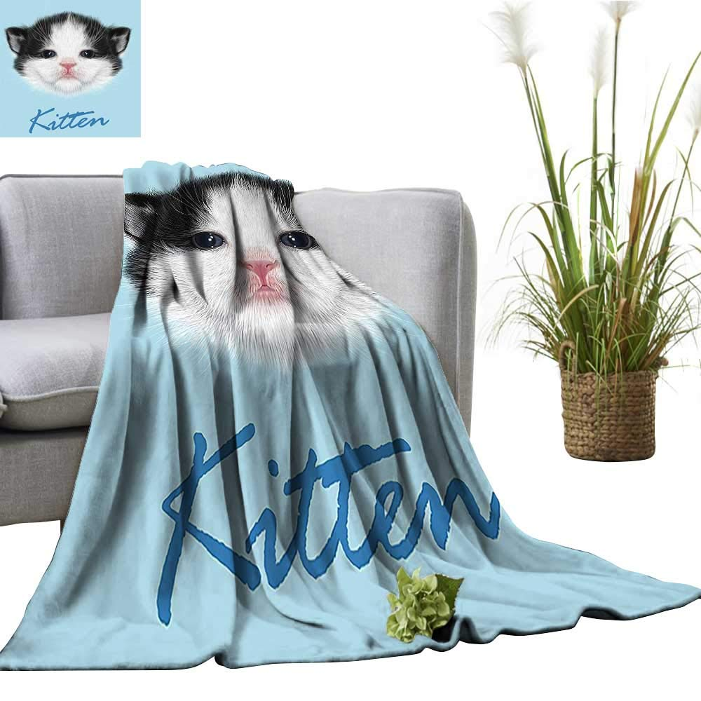 YOYI Bed Blanket Medieval Castle Palace Fairy Princ Kids Girls Comfortable Home Decor 50\'x60\'