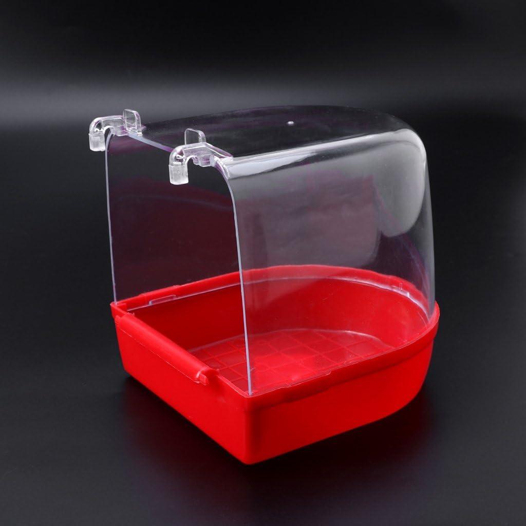 XMPTF Parrot Bird - Caja para bañera de pájaros, para bañera, Ducha, estantería