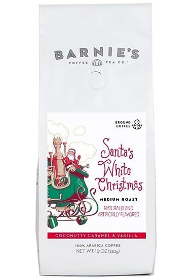 barnies coffee tea santas white christmas ground coffee medium roast arabica coffee