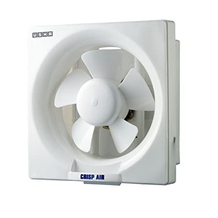 Usha Crisp Air 200mm Exhaust Fan (Pearl White)
