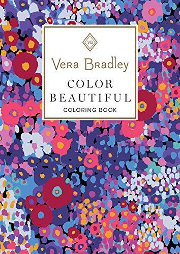 Vera Bradley Color Beautiful Coloring Book