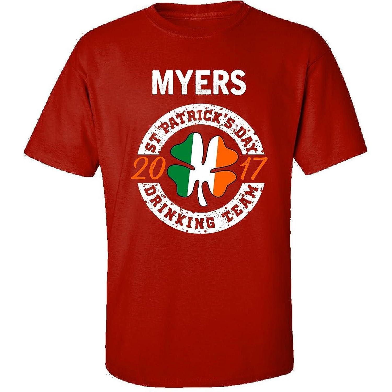 Myers St Patricks Day 2017 Drinking Team Irish - Adult Shirt