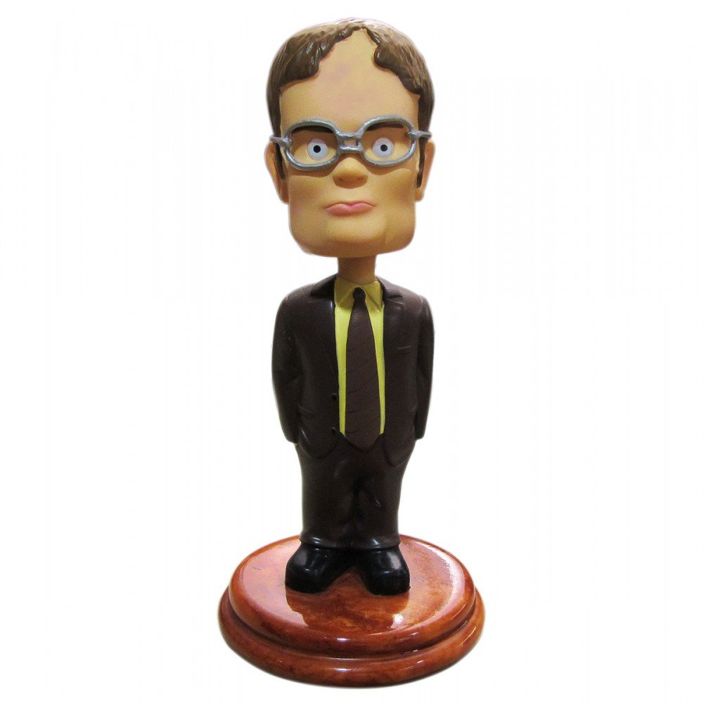 5.5 Inch The Office Dwight Schrute Bobblehead Dash Dancer