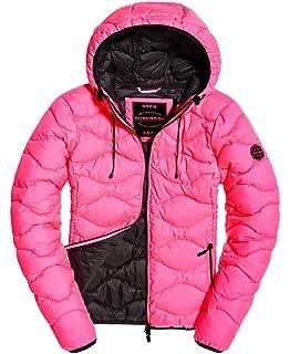 Superdry Jacke Damen ASTRAE Quilt Padded Jacket Dark Grey
