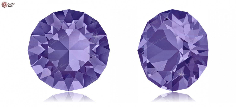 PP24 (3.00  3.20 mm) Swarovski Crystals 1164735 Round Stones 1088 SS 34 TANZANITE F, 144 Pieces