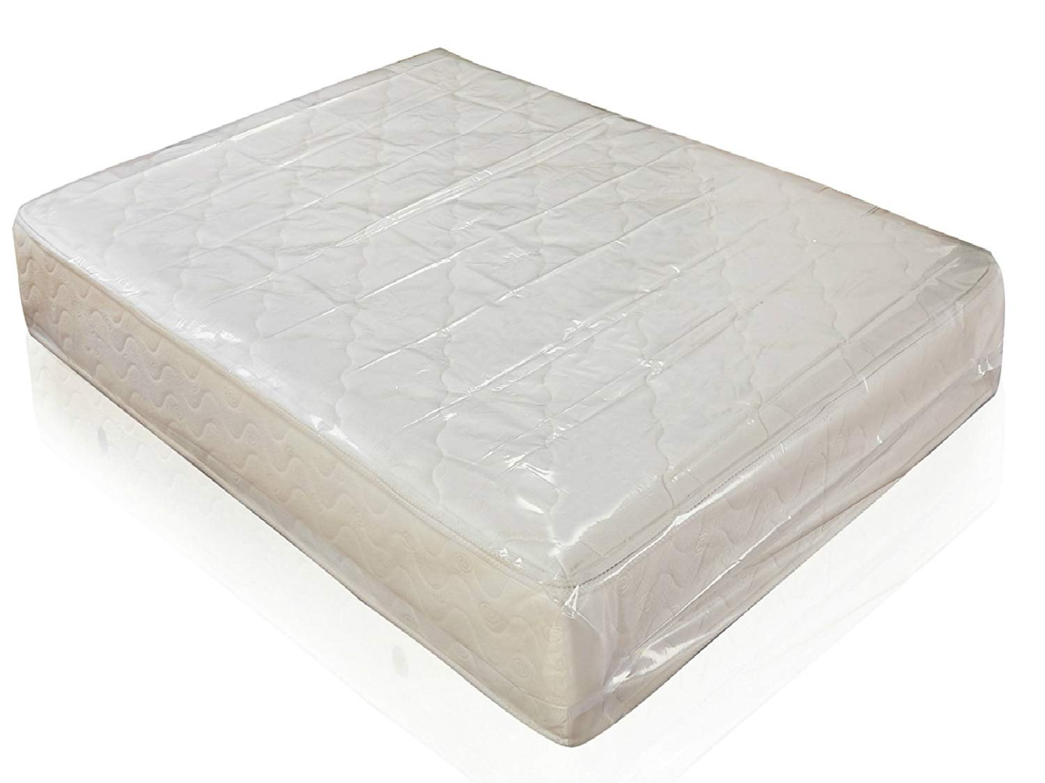 Mattress Bags for Moving, Mattress Bag 4 mil Thick, Heavy Duty Mattress Storage Bag Cover, Fits Standard, Extra-Long, Pillow-top Variation, for Storage, Queen