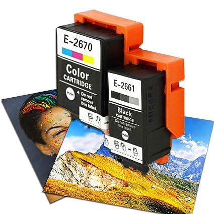 Epson 266 267 T2661 T2670 - Cartuchos de Tinta para ...