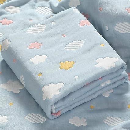 FIFY Bebé Toalla de baño bebé algodón Gasa súper Suave Absorbente recién Nacido baño de Dibujos