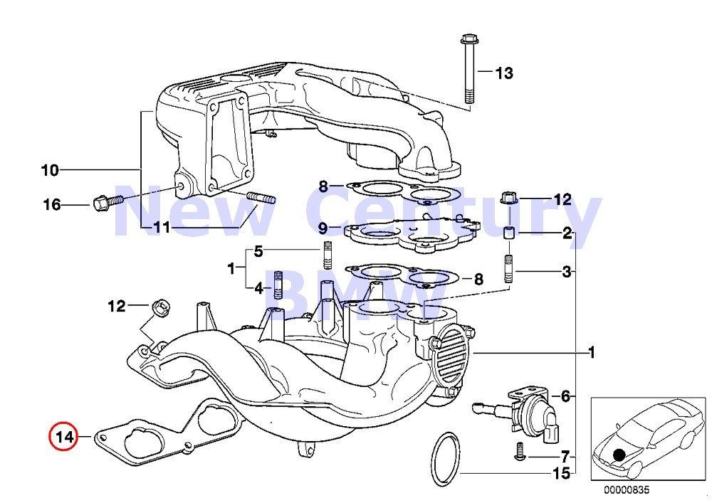 2003 Buick Lesabre Intake Manifold