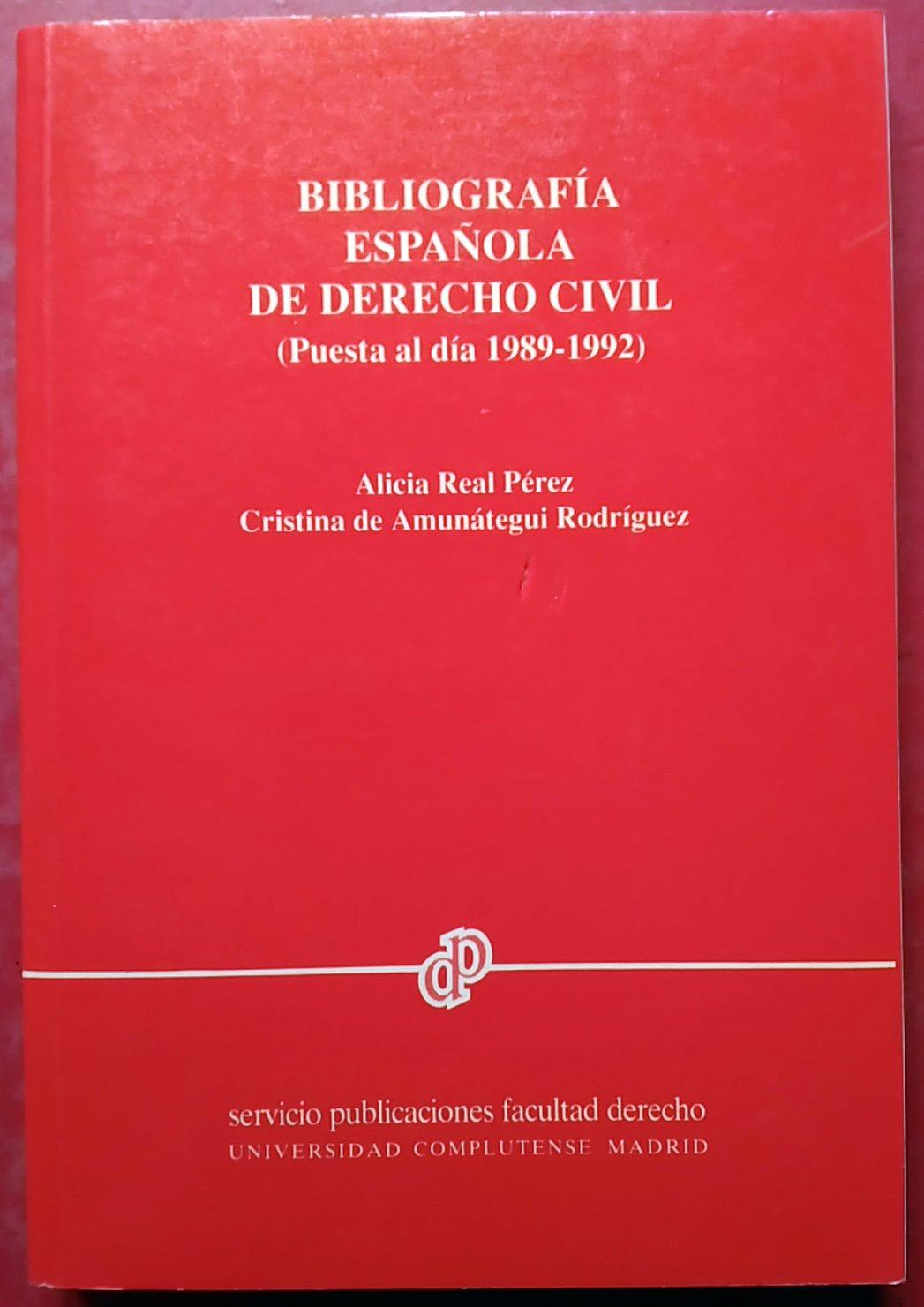 Bibliografía española de derecho civil: Amazon.es: Libros