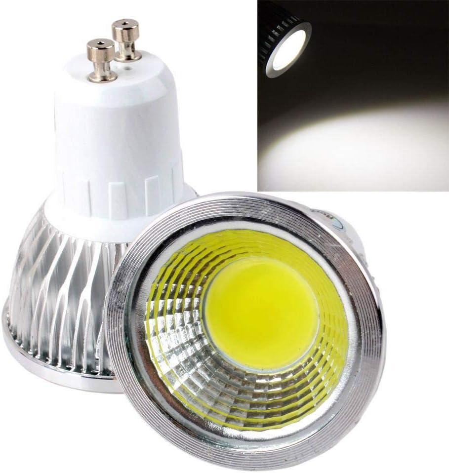 Bombilla de luz Bulbled 9W 12W 15W Luz de lámpara LED Gu10 Gu5.3 Mr16 Cob Regulable Gu 10 Foco LED Blanco cálido/frío Rojo Azul Verde, Mr16 12V, Verde