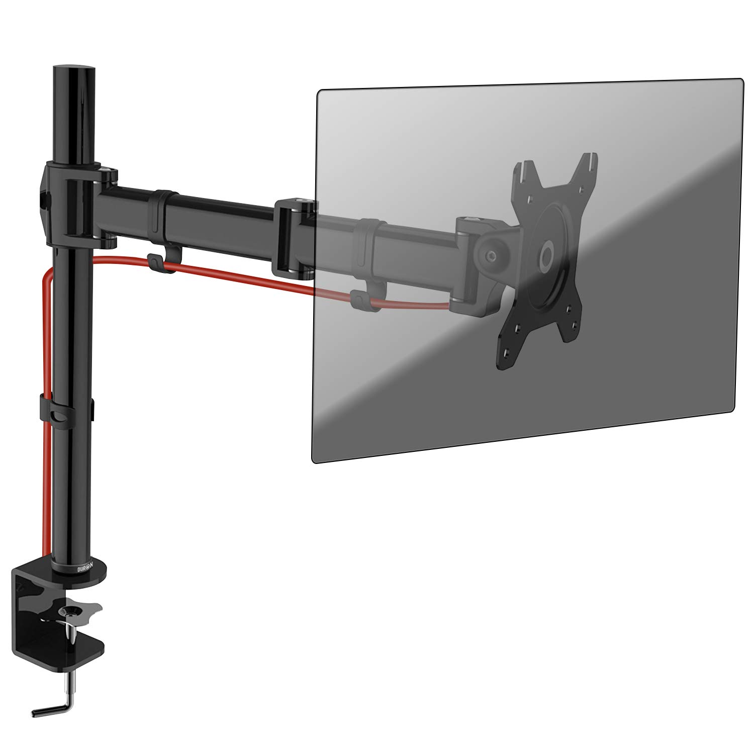 Duronic DM251X3 PC Monitor Arm Stand Desk Mount Bracket Clamp Single LCD | LED |13