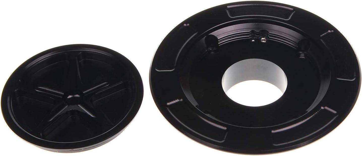 nero TARAZON Moto Tappo Serbatoio Carburante senza chiave per Yamaha YZF R6 03-15 YZF R1 00-14 FJR1300 03-14