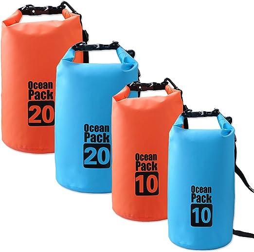 Ocean Pack - Bolsa seca, color azul, tamaño 10 L: Amazon.es: Deportes y aire libre