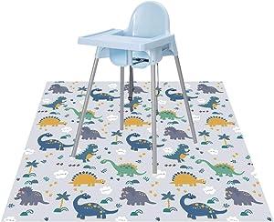 Splat Floor Mat for Under High Chair/Arts/Crafts by CLCROBD, 51