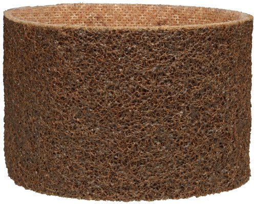 Scotch-Brite(TM) Surface Conditioning Belt, Aluminum Oxide, 3-1/2 Width x 15-1/2 Length, Coarse Brown (Pack of 10) by Scotch-Brite