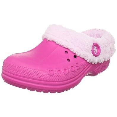 crocs Classic Kids, Unisex - Kinder Clogs, Pink (Fuchsia), 29/31 EU