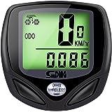 GHB Fahrradcomputer Drahtloser Speedometer Wasserdichter Kilometerzähler mit LCD Display Multifunktional