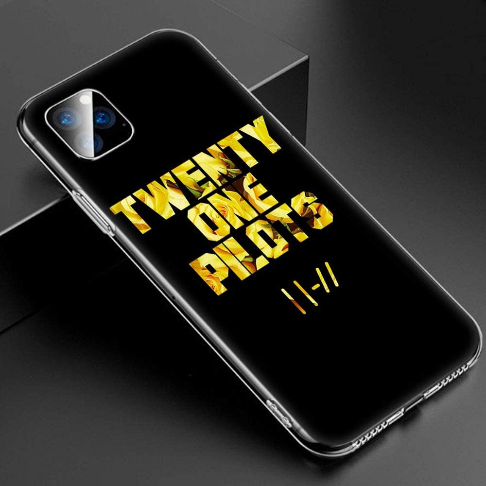 SJKPEA Twenty One P 21 Soft Silicone Transparent Cases Qwqwzx For Funda iPhone X and Funda iPhone XS Case TPU Cover Tkwtkwzx