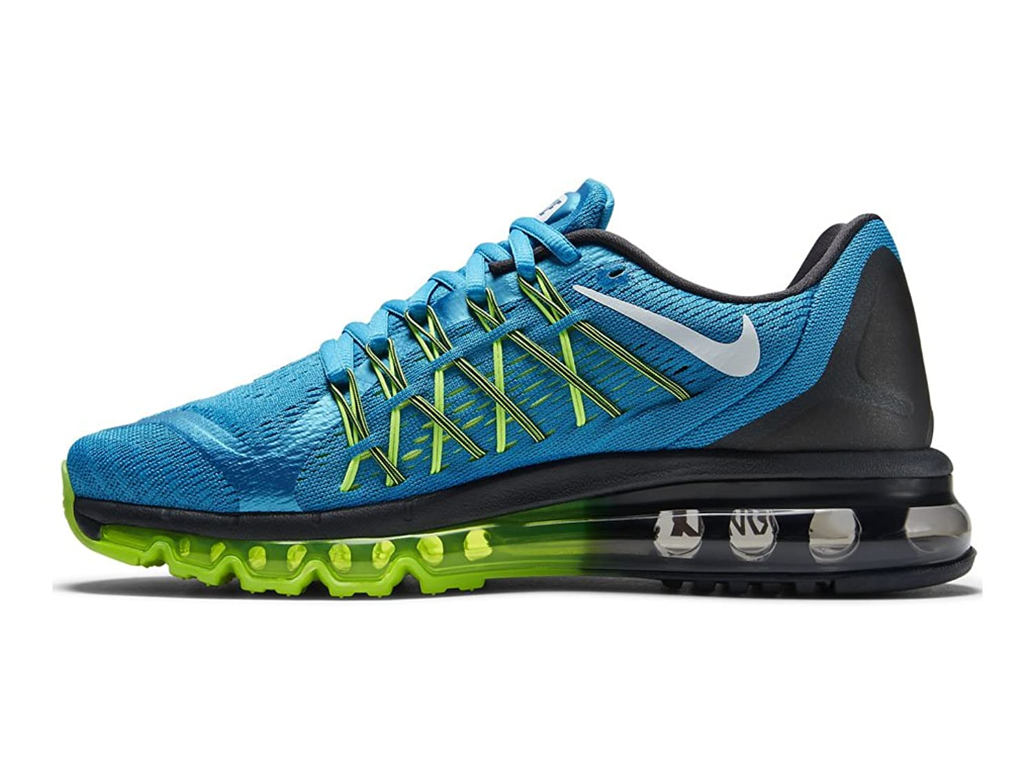 nike womens air max 2015 light blue lacquer volt t
