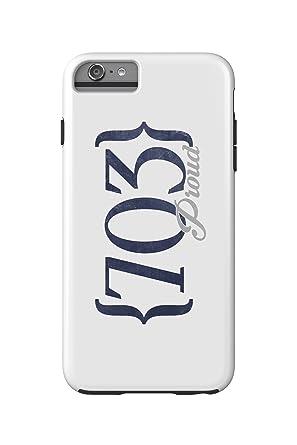 Amazoncom Alexandria Virginia Area Code Blue IPhone - 703 area code