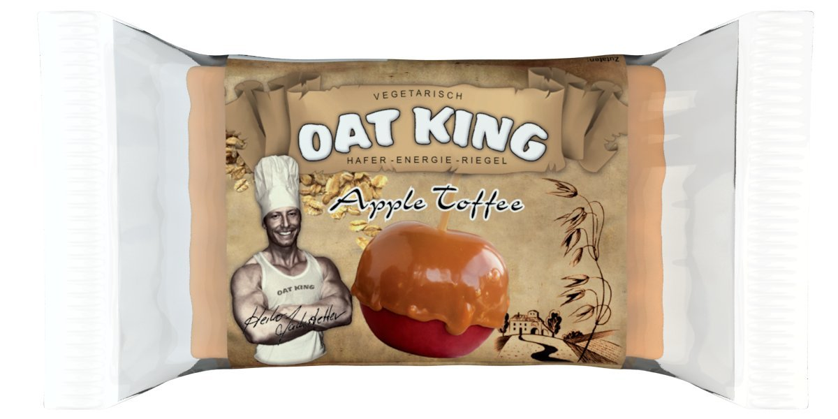 LSP Oat King Energy Bar Apple Caramel - 10 Barras: Amazon.es: Salud y cuidado personal