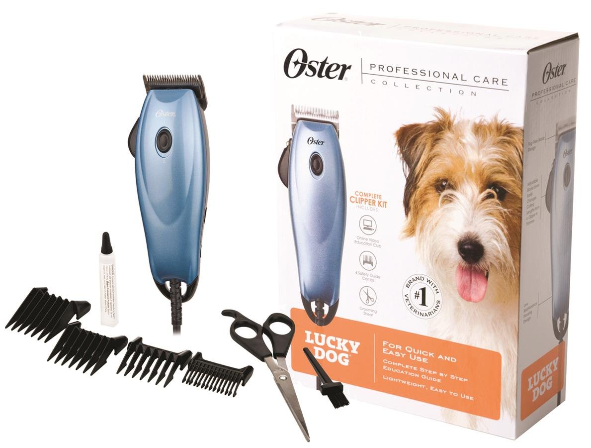 Pet Grooming Supplies : Amazon.com: Oster Professional Care Lucky Dog Home Grooming Clipper Kit