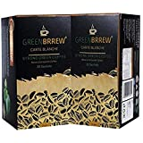 Greenbrrew Healthy Natural Strong unroasted Green Coffee - CARTE BLANCHE - Catalyst for weight loss, boosts metabolism, Helps in maintaining blood sugar level each pack 60g (20 Sachets PP) - Pack of 2