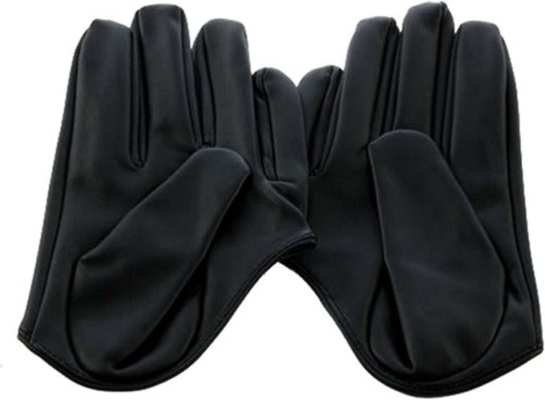 Sanwood Damen Handschuhe Leder F/ünf-Finger Halb Palm