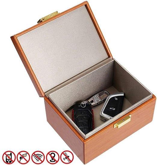 kioski Caja de Bloqueo de señal Caja de Bolsa de Bloqueo Segura Caja de Faraday para Llave de Coche Teléfono Celular Bloqueador RFID/WiFi/NFC: Amazon.es: Hogar