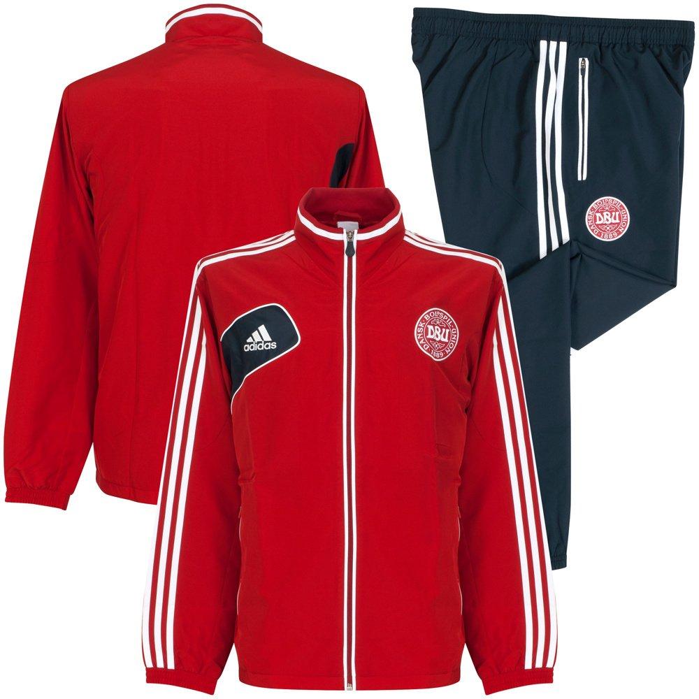 New Adidas Denmark National Team Tracksuit 2012/13 - XXL: Amazon ...