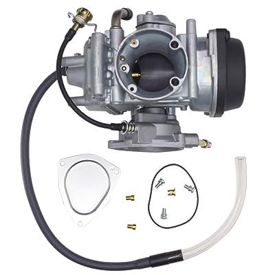 SUNROAD Replacement Carburetor fit for ATV 2004-2013 Yamaha Raptor 350 YFM350 Carb: Automotive