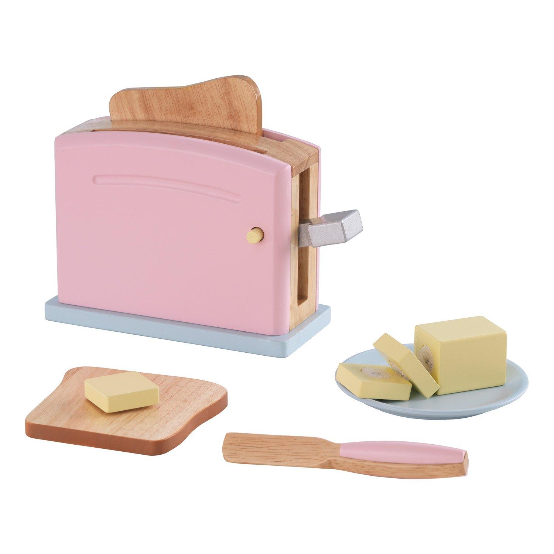 KidKraft Wooden New Toaster Set - Pastel by KidKraft (Image #1)