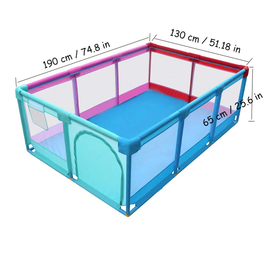 per attivit/à di Divertimento Indoor//Outdoor Grande Regalo di Compleanno per Ragazza o Ragazzo Box Baby Safety Fence Kids Ball Pit Tenda Dimensioni 74,8 x 51,18 x 25,6 poll Palle Non Incluse
