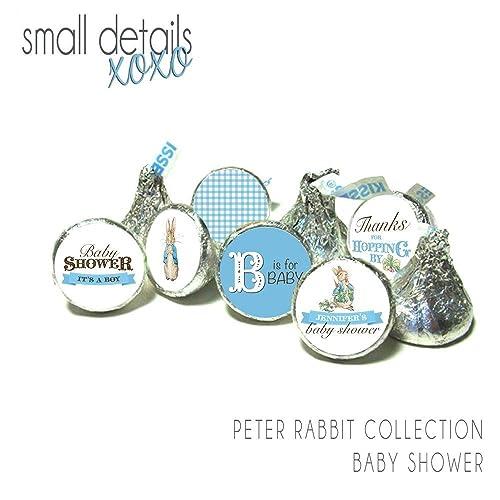 Amazon Peter Rabbit Baby Shower Kiss Stickers Beatrix Potter