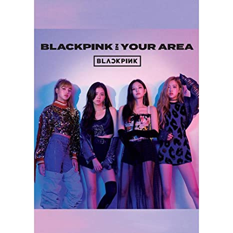 Youyouchard Kpop Blackpink New Album [Blackpink in Your Area] Official  Supported Poster for 2019 World Tour, 16 5×11 8IN