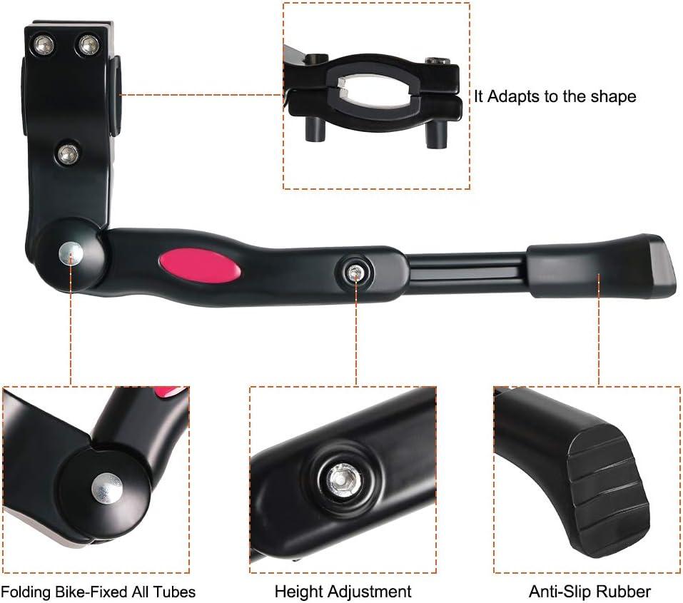 Cevikno Fahrradst/änder Einstellbarer Universal Hinterbaust/änder Aluminiumlegierung Fahrrad St/änder