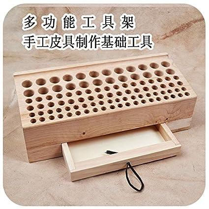 Generic Large Capacity Professional Leather Diy Tool Box