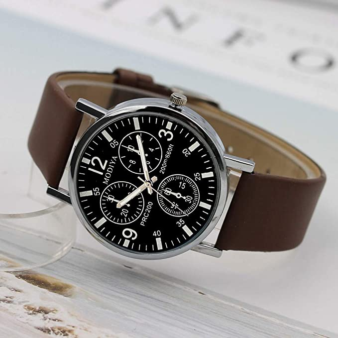 Beladla Relojes Hombre Deportivos CláSicos Lujo Negocio Casual Impermeable Reloj AnáLogo Correa De Acero Inoxidable: Amazon.es: Ropa y accesorios