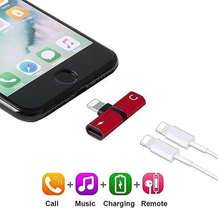 Amazon.com: Adaptador de auriculares 2 en 1 conectores ...