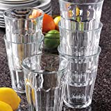 Duralex Made In France Picardie 17-5/8-Ounce Clear Tumbler, Set of 6