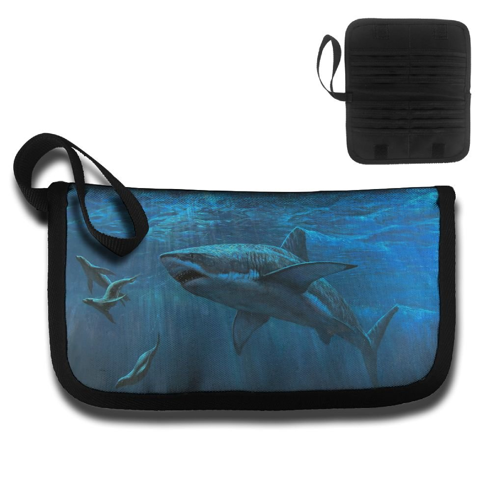Gili Chase Seals Chasing Sharks Travel Passport /& Document Organizer Zipper Case